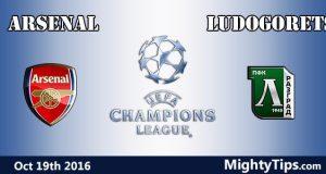 Arsenal vs Ludogorets Prediction and Betting Tips