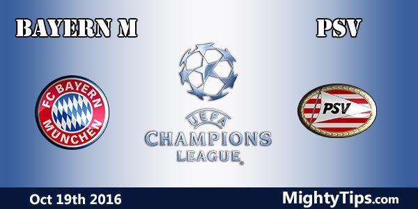 Bayern vs PSV Prediction and Betting Tips