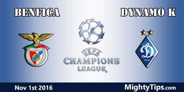 Resultado de imagem para Benfica vs Dínamo de Kiev