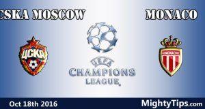 CSKA Moscow vs Monaco Prediction and Betting Tips