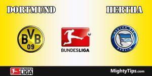 Dortmund vs Hertha Prediction and Betting Tips