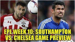 EPL Week 10: Southampton vs Chelsea Game Preview