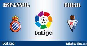Espanyol vs Eibar Prediction and Betting Tips