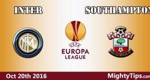Inter vs Southampton Prediction and Betting Tips