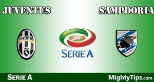 Juventus vs Sampdoria Prediction and Betting Tips