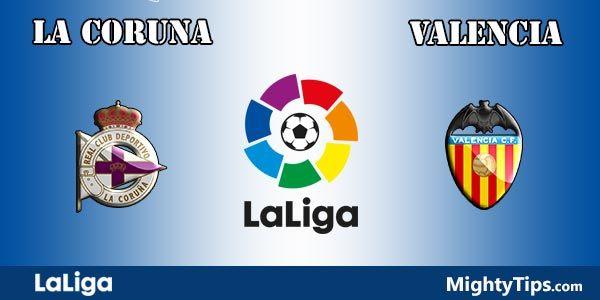 La Coruna vs Valencia Prediction and Betting Tips
