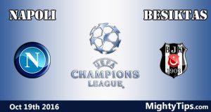 Napoli vs Besiktas Prediction and Betting Tips