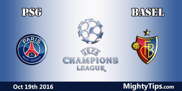 Assistir PSG x Basel hoje ao vivo 19/10/2016