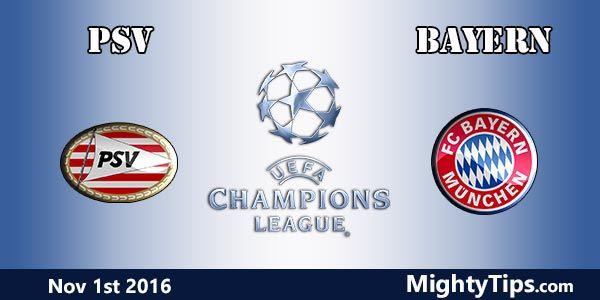 PSV vs Bayern Prediction and Betting Tips