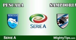 Pescara vs Sampdoria Prediction and Betting Tips