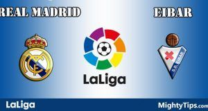 Real Madrid vs Eibar Prediction and Betting Tips