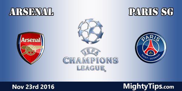 Arsenal vs PSG Prediction and Betting Tips