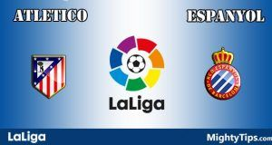 Atletico vs Espanyol Prediction and Betting Tips