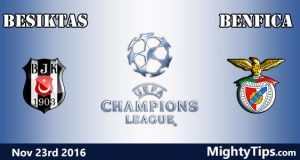 Besiktas vs Benfica Prediction and Betting Tips