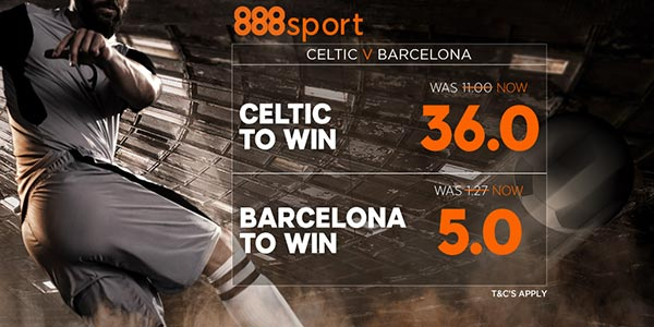 Celtic vs Barcelona Prediction and Bet