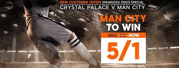 Crystal Palace vs Man City Prediction and Bet