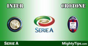Inter vs Crotone Prediction and Betting Tips