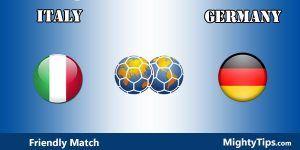 Italy vs Germany Prediction and Betting Tips