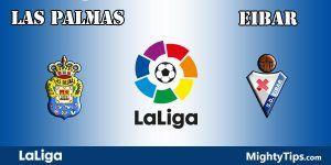 Las Palmas vs Eibar Prediction and Betting Tips