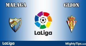 Malaga vs Gijon Prediction and Betting Tips