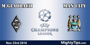 Monchengladbach vs Man City Prediction and Betting Tips