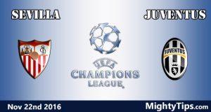 Sevilla vs Juventus Prediction and Betting Tips