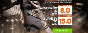 West Brom vs Burnley Prediction