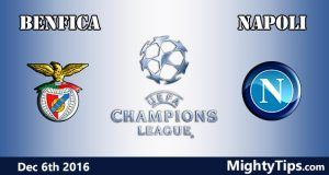 Benfica vs Napoli Prediction and Betting Tips