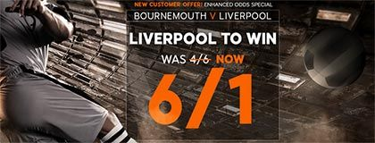 Bet on Liverpool Today