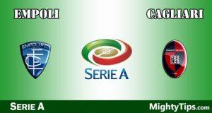 Empoli vs Cagliari Prediction and Betting Tips