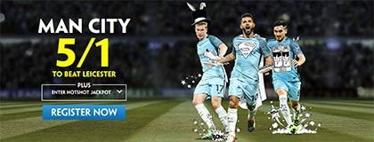 Bet on Man City