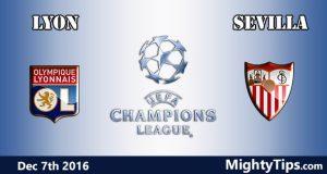 Lyon vs Sevilla Prediction and Betting Tips
