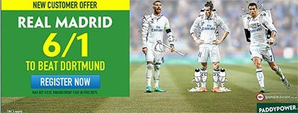 Bet on Real Madrid