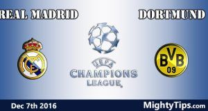 Real Madrid vs Dortmund Prediction and Betting Tips