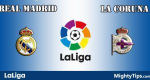 Real Madrid vs La Coruna Prediction and Betting Tips