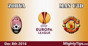 Zorya vs Manchester United Prediction and Betting Tips