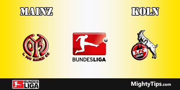 Mainz vs Koln Prediction and Betting Tips