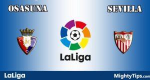 Osasuna vs Sevilla Prediction and Betting Tips