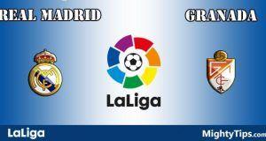 Real Madrid vs Granada Prediction and Betting Tips