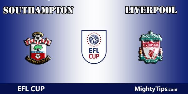 Southampton vs Liverpool Prediction and Tips