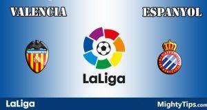 Valencia vs Espanyol Prediction and Betting Tips
