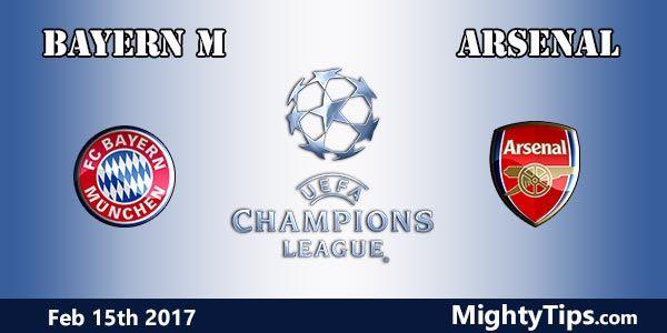 Bayern vs Arsenal Prediction and Betting Tips