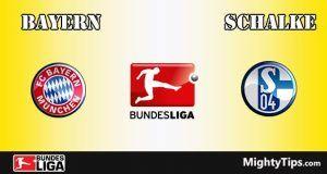 Bayern vs Schalke Prediction and Betting Tips