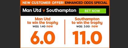 Bet on Manchester vs Southampton