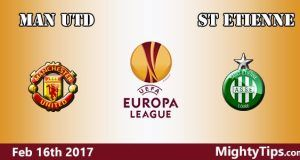 Manchester United vs St Etienne Prediction and Betting Tips