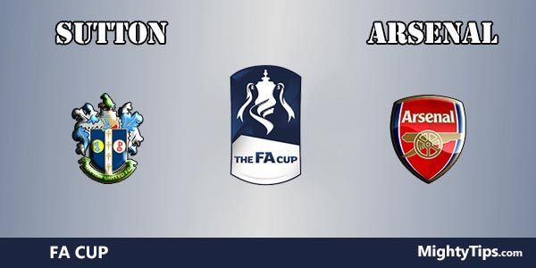 Sutton vs Arsenal Prediction and Betting Tips