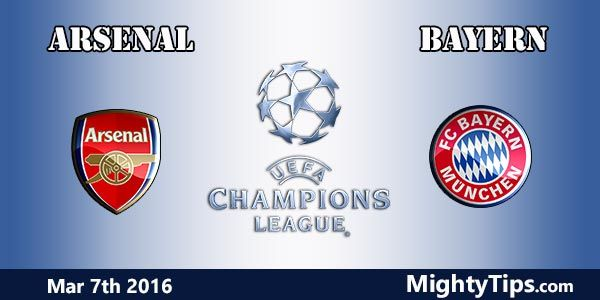 Arsenal vs Bayern Prediction and Betting Tips