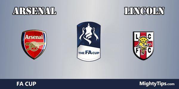 Arsenal vs Lincoln Prediction and Betting Tips