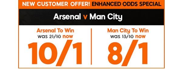 Arsenal vs Manchester City Prediction and Bet