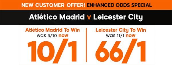 Atletico Madrid vs Leicester Prediction and Bet